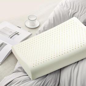 一默乳胶枕泰国天然乳胶枕头护颈枕乳胶枕 枕芯 经典成人颈椎枕助睡眠橡胶枕 乳胶枕