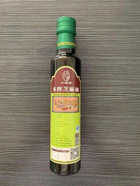 【米面粮油】小农妹木榨芝麻油(250ml/瓶)