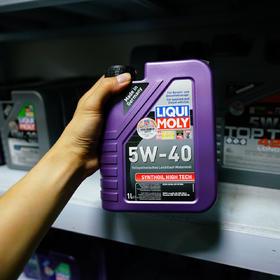 力魔 高科技型全合成机油 5W-40 1L 1855