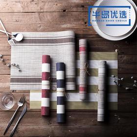 北欧日式防水防油餐垫杯垫隔热垫 PVC简约创意耐热家用餐垫1片装