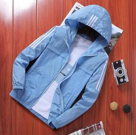 夏季男式夹克型防晒衣  77+100积分