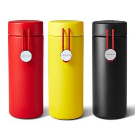 九阳小红绳316L不锈钢材质圆筒350ml保温杯B35V9(卡洛)
