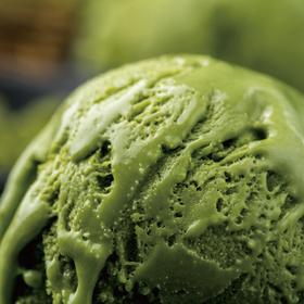 [半糖冰盒] 少糖少热量 宇治抹茶+海盐芝士两种冰淇淋口味 80g/杯 共8杯