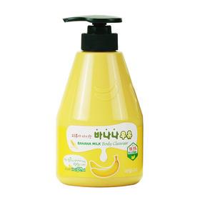 韩国水果之乡香蕉牛奶沐浴露持久留香保湿滋润补水家庭装560ml