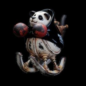 松岡道弘 Rocking Panda 限定版 限定300体