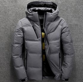 【羽绒服】*. 男士冬装短款加厚羽绒服韩版青年白鸭绒保暖外套 | 基础商品