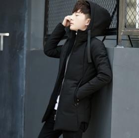 【羽绒服男】*冬季棉衣男士中长款加厚棉袄大衣韩版潮流修身羽绒服潮流外套 | 基础商品