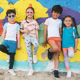 梁咏琪孩子们爱穿的超弹裤?moody tiger 无感运动裤!UPF50+ 防晒、防蚊!轻薄、透气、快干排汗不粘身!