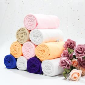 【高弹毛巾】 粉色宝蓝桔黄浅粉深紫浅紫白色咖色牛皮黄