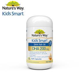 【国内贸易】澳洲 NaturesWay 澳萃维 KidsSmart DHA鱼油胶囊200
