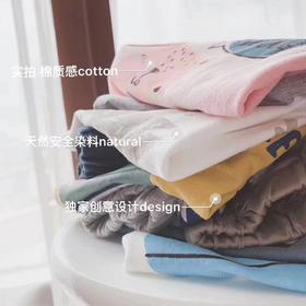 【团】FX--全棉印花短袖男女童套装