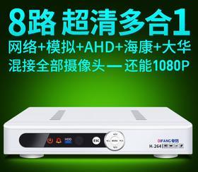 8路DVR监控硬盘录像机  267+200积分