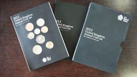 2013年英国普通流通币卡册(15枚装)