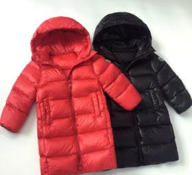 【羽绒服女】*.冬季儿童面包羽绒服中长款过膝加厚轻薄男童女童小童宝宝童装外套 | 基础商品