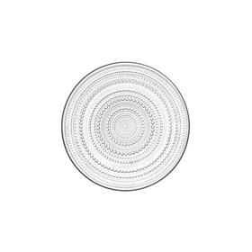 芬兰【Iittala】Kastehelmi 露珠玻璃盘
