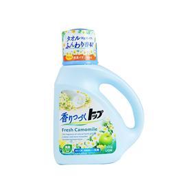 【国内贸易】日本狮王Lion TOP香味持续洗衣液 洋甘菊香型 900g