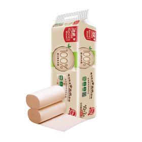 洁柔低白度卫生纸(自然木有芯)150g/12卷装