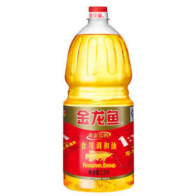 金龙鱼黄金比例食用调和油 2.5L/支