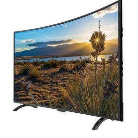 【电视机】.55寸4K曲面液晶屏电视机32寸42寸50寸65寸75寸智能网络wifi高清