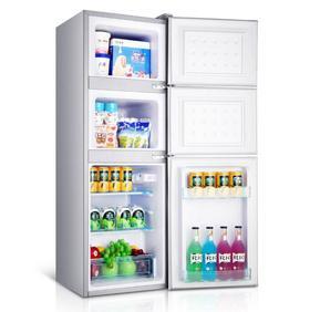 【电器】.Chigo/志高BCD-98S150三门式冰箱三门家用节能冰箱小三开门电冰箱