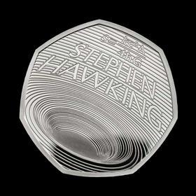 【黑洞币】霍金纪念币(英国皇家造币厂发行)