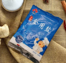 鲁晶食用盐 400g/包