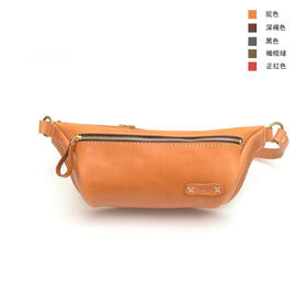 Herz 简单帅拉链腰包胸包,手作达人纯手工 | 5 款(日本)