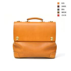 Herz 双搭扣两用通勤出差旅行包,手作达人纯手工 | 5 款(日本)