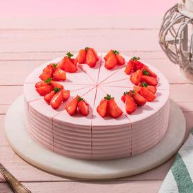 【烈焰莓莓】夏日清新草莓慕斯,无法抗拒的粉红甜蜜(赣州)