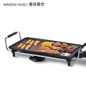 烧烤炉家用电烤盘室内不粘小型多功能韩式无炭烟架铁板烧烤肉串机