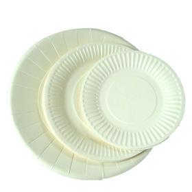 10个纸碟 - 蛋糕配件