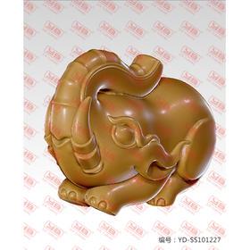 YD-SS101227立体大象