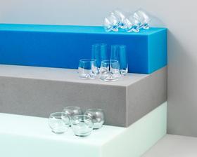 丹麦【Normann Copenhagen】透明玻璃2件装
