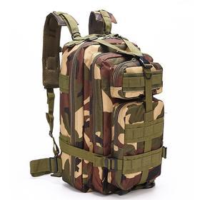 【军迷高质背包】军迷战术背包3p攻击包 迷彩多功能防水背包户外登山徒步包双肩包
