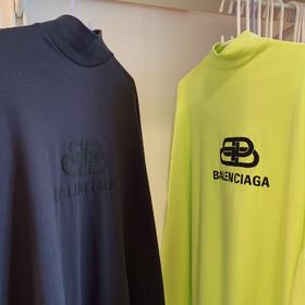 新款‼️BLC 2019ss 独家代购版 黑灰色长款T恤 修身款 独家定制原版染色面料 这个黄色也太好看了吧!