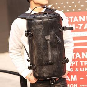 麦包包-戈尔本 时尚韩版大容量水桶式双肩包