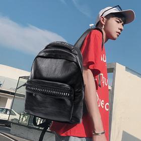 麦包包-戈尔本 韩版休闲背包简约学院风双肩包