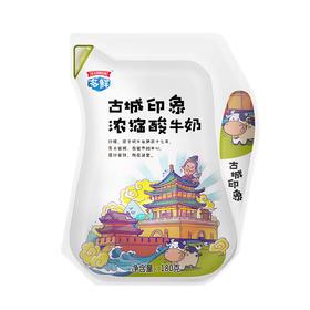 古城印象浓缩原味酸奶180g*12袋