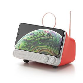 复古电视无线充电器支架 适用于任何具备无线充电功能的手机机型