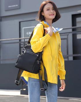 麦包包-戈尔本 新款简约多口袋男女手提单肩双肩包