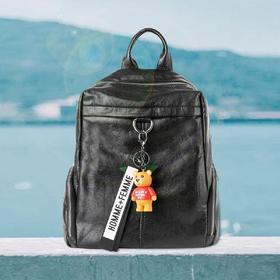 麦包包-戈尔本 新款柔软手感小熊公仔包手提双肩斜挎背多用包
