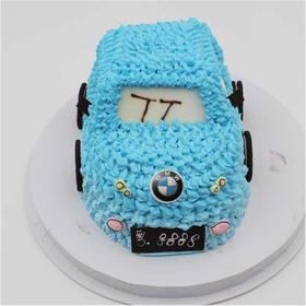 【男生最爱】炫酷汽车~趣味艺术蛋糕(2磅起订)