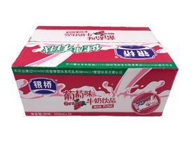 银桥百利包酸牛奶葡萄味饮品