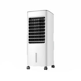 美的(Midea)冷风扇 移动大风量小空调扇家用宿舍冰晶制冷蒸发式加湿冷风机AC100-18D 白色