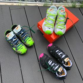 【情侣款】纯原版本--OFF-WHITE x Nike Zoom Terra Kiger 5 黑玫红 尺码 : 36 36.5 37.5 38 38.5 39 40 40.5 41 4