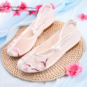 (捡漏啦)YXLX419-85新款鸢尾网纱老北京绣花鞋TZF