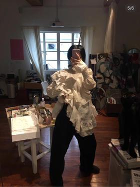 新晋小众设计师品牌 19fw 独家代购版 重工衬衫 太太太美了! 大爆款!