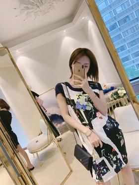 🎉🎉英国品牌PS短袖连衣裙 100%双皱真丝面料 面料舒适 清爽透气 简单大方款 尺码S M L