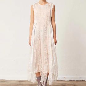 cherevichkiotvic 19fw 独立设计师品牌 压轴款 桑蚕丝连衣裙 太美了 超重工的款