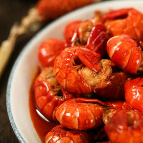 四川打卡网红美食!即食虾尾,肉质紧实,麻辣鲜香!现做现发